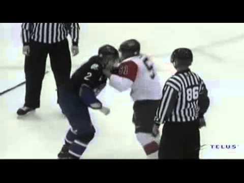 Shane MacDonald vs. Samuel Leblanc