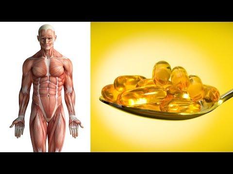 Schau was mit deinem Körper passiert, wenn du täglich Fischöl zu dir nimmst!