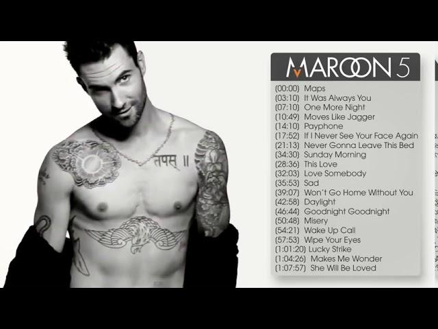 The best songs of Maroon5 (Maroon5 greatest hits)