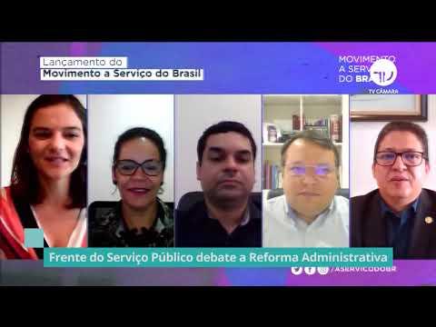 Frente do Serviço Público debate reforma administrativa - 10/11/20