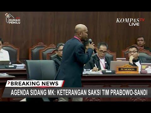 """Hakim MK Persilakan Saksi """"Mondar-mandir"""" Biar Bagus di TV"""