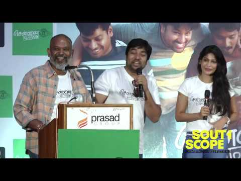 Mirchi Shiva speaks at Chennai 600028 II audio launch