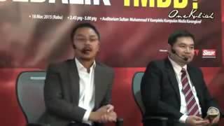 DEBAT 1MDB!!  Ini Lah Padahnya Bila Suruh Rafizi Ramli Berdebat Dengan Macai Umno