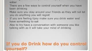 10R - 18673 Safe Choices - Alcohol