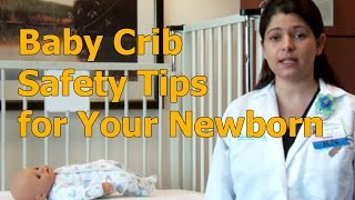 Baby Crib Safety Tips for Your Newborn Baby