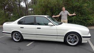 The 1991 BMW M5 (E34) Was a 1990s Sport Sedan Icon