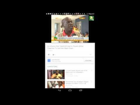 Video of Ghana Newspaper & Video