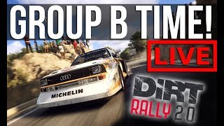 Time For Group B In Our Dirt Rally 2.0 Career Mode