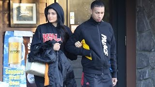 Kylie Jenner Shamelessly Sports Her Own Gear During Lunch Date