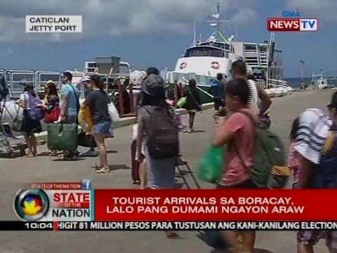 SONA: Tourist arrivals sa Boracay, lalo pang dumami ngayong araw