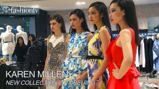 Karen Millen 2013 Collection In Beijing | FashionTV