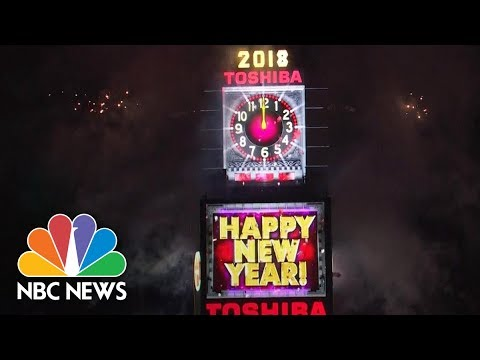 2018 New Year Celebrations Around The World | NBC News