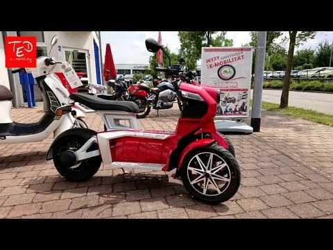 Doohan iTank - Elektroroller / Elektro Vorder-Doppelrad