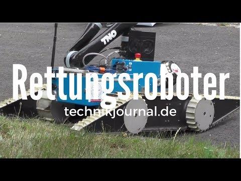 Rettungsroboter aus Dortmund