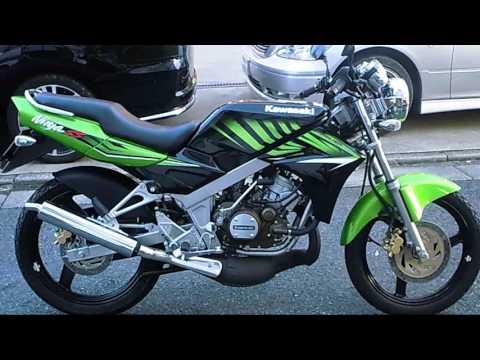 【HD】Kawasaki Ninja SS 150cc(2スト)エンジン始動&排気音