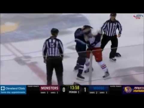 Nick Moutrey vs. Aaron Harstad