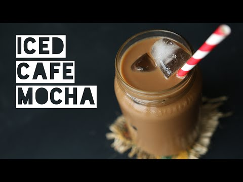 Video How To Make A Low Calorie Dairy Free Cafe Mocha | Healthy Cafe Mocha Energy Drink Recipe