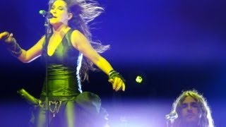 preview picture of video 'Concierto MALÚ feria de onda 2012'