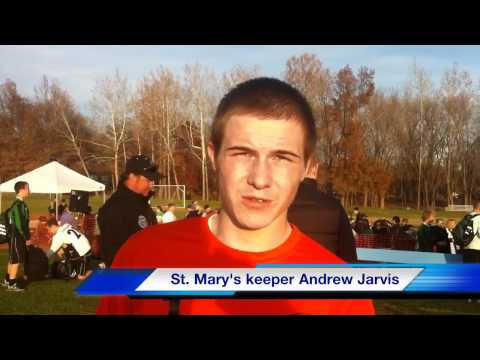 St. Mary's keeper Andrew Jarvis