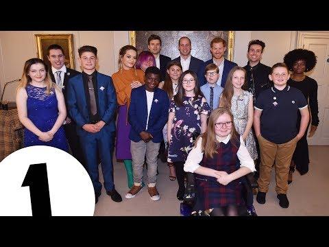 Radio1's 2017 Teen Heroes meets the Royals