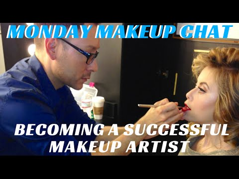 How to Become a Successful Makeup Artist Assistant #MondayMakeupChat - mathias4makeup