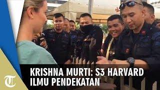 Viral Polisi Ajak Sulap Jurnalis Asing saat Aksi 22 Mei, Krishna Murti: S3 Harvard Ilmu Pendekatan