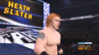 WWE '12 Heath Slater Updated Entrance [Video]