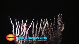 preview picture of video 'Claromecó Mar y Fuegos 2015 HD'