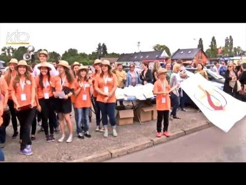 L'accueil des pèlerins d'Amiens à Skoczow