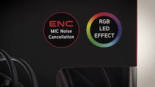 ABKO HACKER N950 하드웨어 EQ 가상 7.1채널 RGB 진동 게이밍 헤드셋_동영상_이미지