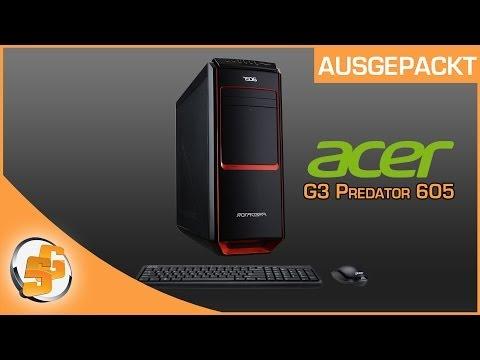 Ausgepackt - Acer G3 Predator 605 [DE] SceneGamersDE