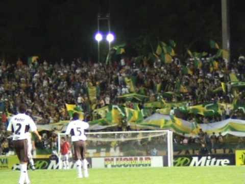 """""""ALDOSIVI 1 Platense 0 -28-02-2009 Resumen del partido"""" Barra: La Pesada del Puerto • Club: Aldosivi"""