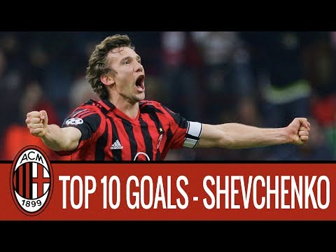 Andriy Shevchenko's top 10 goals for AC Milan