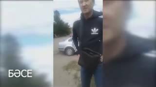 КНБ скрутили и задержали женщину в Астане. Митинг ДВК 23 июня 2018/ БАСЕ