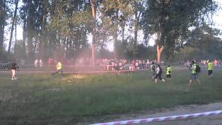 preview picture of video 'Wypadek Baja Carpathia Stalowa Wola Korda Czegledi off road Crash 29/06/2012'
