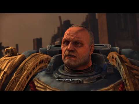 Warhammer 40,000 Space Marine never give up fighting 02