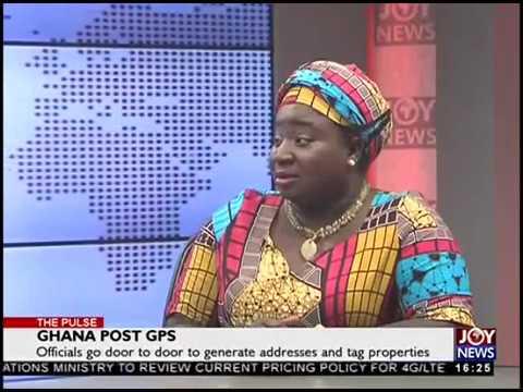 Ghana Post GPS - The Pulse on JoyNews (20-8-18)