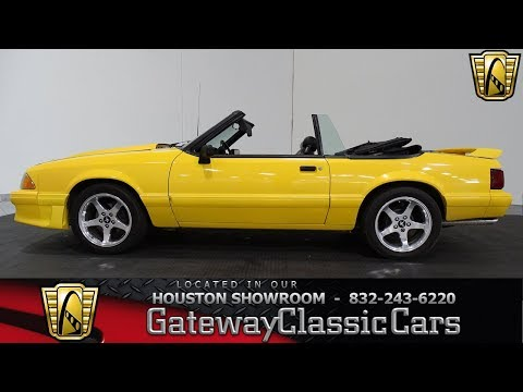Video of '89 Mustang - LV29