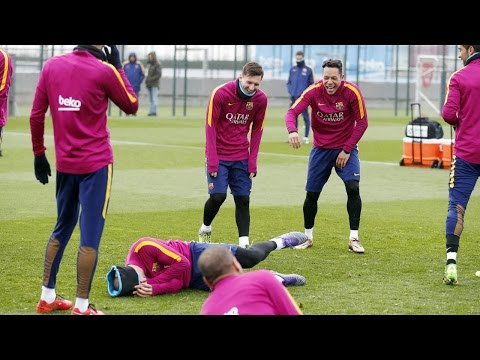 FUNNY - Three complete rounds by FC Barcelona with a prize at the end