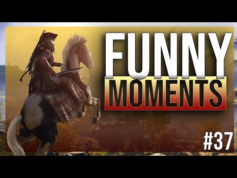 ASSASSINS CREED ODYSSEY - funny twitch moments ep.37
