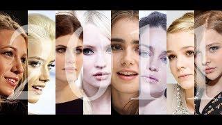 Красивые женщины, 100 самых красивых женских лиц.2011 год