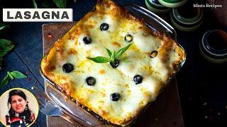लसानिया बनाइये घर पे हिंदी में | Lasagna Recipe In Hindi | Lasaniya Recipe | Mintsrecipes
