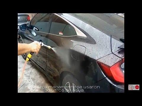 Lavadora de autos de 12V a 65 w muy buena practica y barata