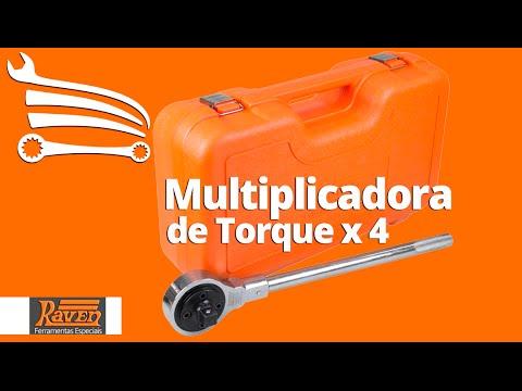 Multiplicadora de Torque x 4 com Encaixe 1/2 Pol. e Saída de 3/4 Pol. - Video