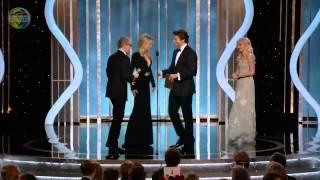 ♥ Christoph Waltz [Django] - [HD] Golden Globe Awards 2013