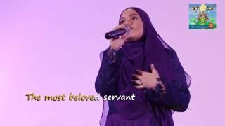 Rasulullah SAW Unofficial Video Performed By Putri VOU At VOU 2 Album Launch