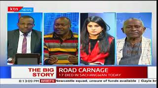 The Big Story: 36 people have perished in road accidents under 24 hours