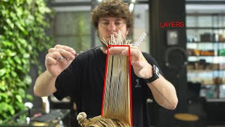 How To Cut Layers In Long Hair. Long Layered Haircut Tutorial