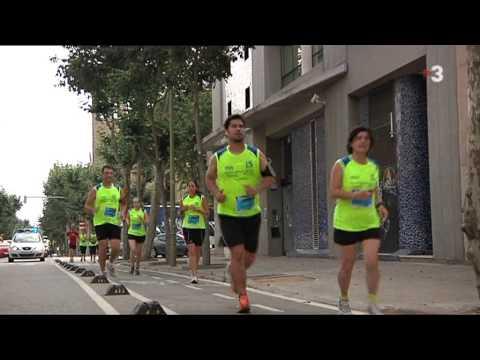 Vídeo Telenotícias tarde TV3 Carrera Vila Olímpica