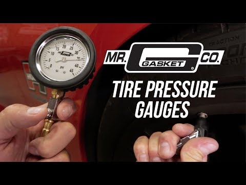 Mr Gasket Tire Pressure Gauges